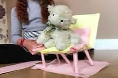 Stem challenge build a chair out of paper and tape that can hold a soft toy